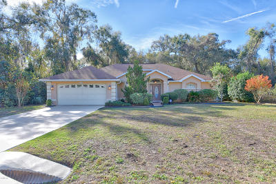 Ocala Single Family Home For Sale: 8680 Juniper Road