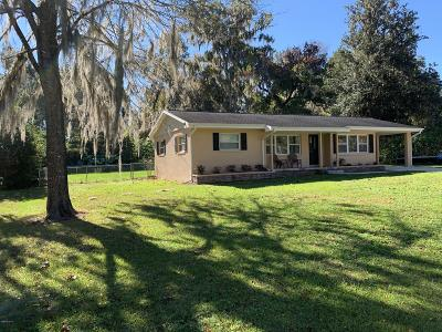 Belleview FL Single Family Home For Sale: $160,000