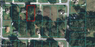 Ocala FL Residential Lots & Land For Sale: $13,000