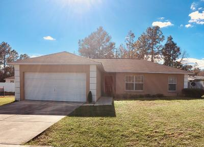 Ocala Single Family Home For Sale: 10 Pecan Run Dr Drive
