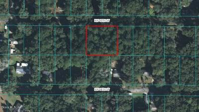 Ocala FL Residential Lots & Land For Sale: $19,500