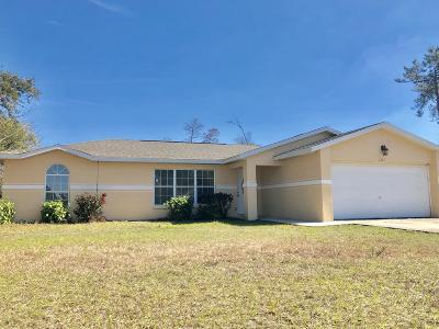 Ocala Single Family Home For Sale: 2263 SW 156th Loop
