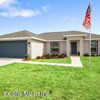 Ocala Single Family Home For Sale: 21 Juniper Circle Road