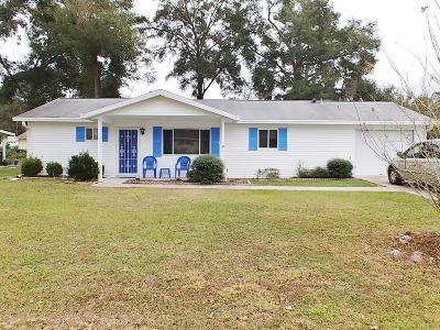 Marion County Single Family Home For Sale: 10969 SW 75th Terrace