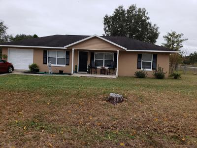 Ocala Single Family Home For Sale: 1 Willow Trail