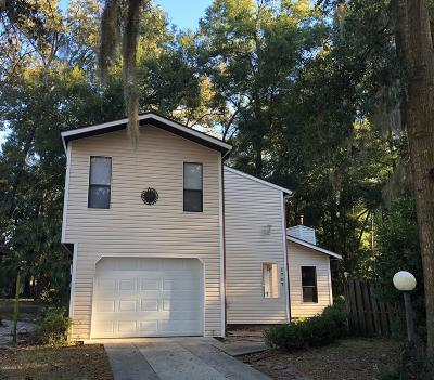 Ocala Single Family Home For Sale: 1707 SW 29th Terrace
