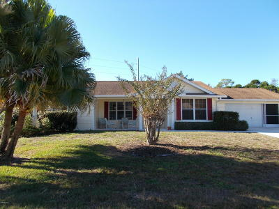 Ocala Single Family Home For Sale: 11680 SW 89th Terrace