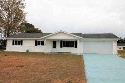 Ocala Single Family Home For Sale: 10975 SW 62nd Terrace