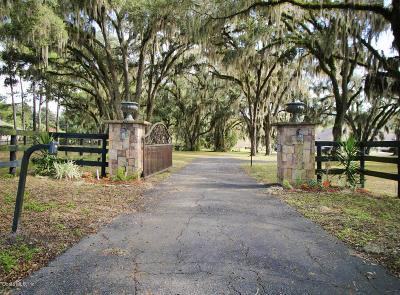 Ocala Farm For Sale: 9651 NW 80th Avenue