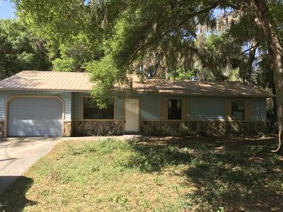 Marion County Rental For Rent: 16 Juniper Pass Lane