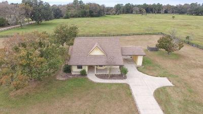 Marion County Farm For Sale: 9020 NW 60th Ave Avenue