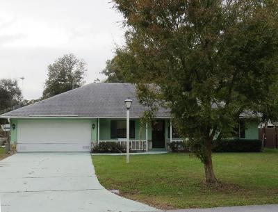 Ocala FL Single Family Home For Sale: $140,000
