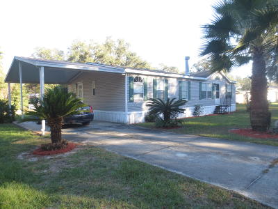 Silver Springs FL Single Family Home For Sale: $84,900