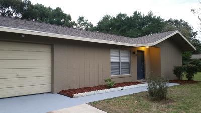 Dunnellon Single Family Home For Sale: 21546 SW Honeysuckle Street