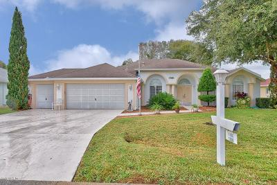 Ocala Palms Single Family Home For Sale: 1956 NW 50th Circle