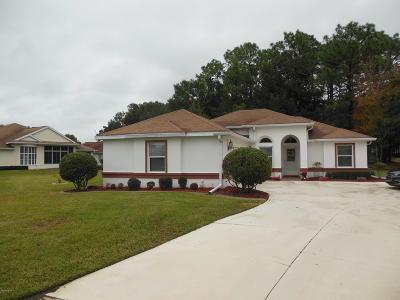 Ocala Single Family Home For Sale: 6601 SW 112th Street
