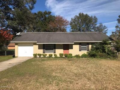 Ocala Single Family Home For Sale: 2161 NE 40th St Street