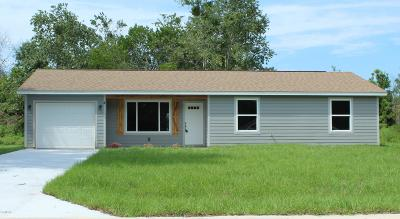 Ocala Single Family Home For Sale: Spruce Place