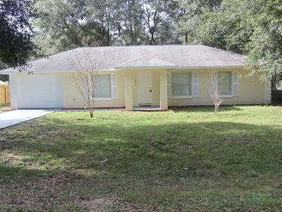 Ocala Single Family Home For Sale: 4850 NW 60th Terrace