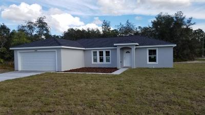 Ocala Single Family Home For Sale: 3891 SW 130th Loop