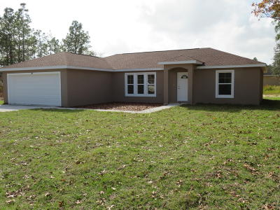 Ocala Single Family Home For Sale: 3650 SW 129th Place
