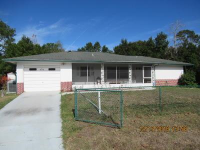 Ocala Single Family Home For Sale: 454 Spring Lane