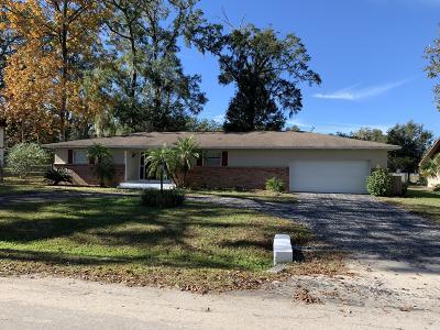 Ocala Single Family Home For Sale: 3160 SE 30th Terrace