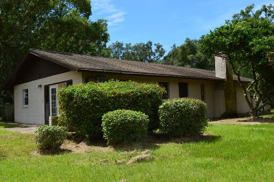 Ocala Single Family Home For Sale: 4412 NW 100th Street