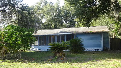 Belleview FL Single Family Home For Sale: $69,900