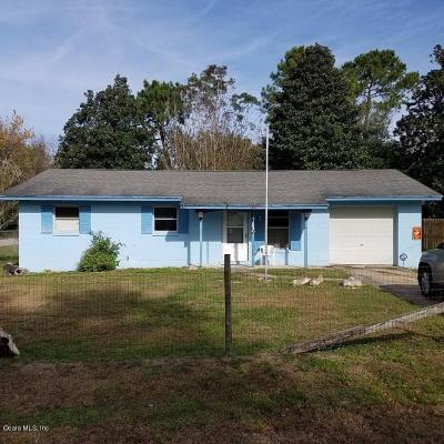 Summerfield Single Family Home For Sale: 3805 SE 138th Place