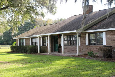 Ocala Farm For Sale: 1960 NW 77th Street