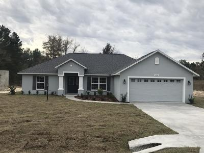 Marion County Rental For Rent: 5240 SW 114th Street Road