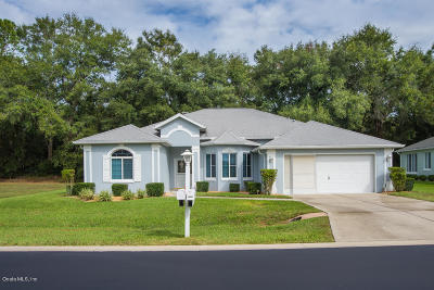 Ocala Palms Single Family Home For Sale: 5841 NW 27th Pl. Place