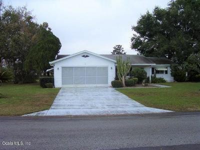 Summerfield FL Single Family Home Pending: $125,000