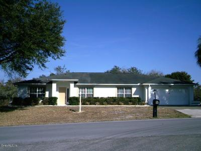 Ocala Single Family Home For Sale: 144 Marion Oaks Golf Way
