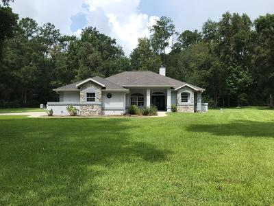 Ocala Single Family Home For Sale: 7580 NW 83rd Court Road