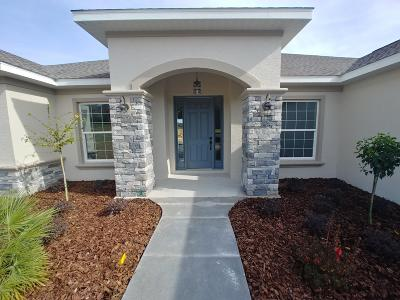 Ocala Single Family Home For Sale: 2012 NW 86 Place