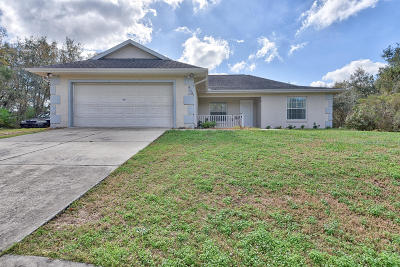 Ocala Single Family Home For Sale: 4130 SW 133rd Lane