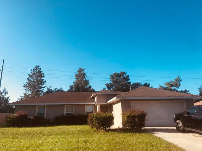 Marion Oaks North, Marion Oaks South, Marion Oaks Rnc Single Family Home For Sale: 13311 SW 29th Circle