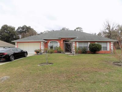Ocala Single Family Home For Sale: 5672 SW 117th Lane Road