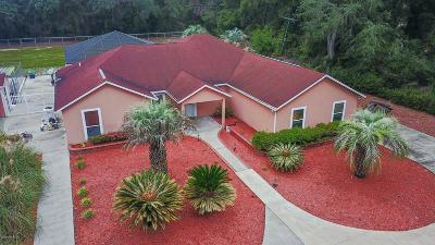 Levy County Single Family Home For Sale: 14950 NW Old Fannin Road
