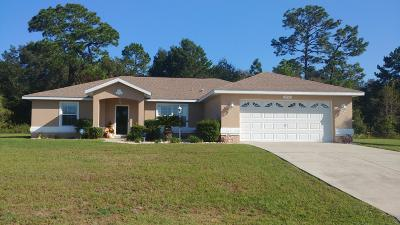 Marion Oaks North, Marion Oaks South, Marion Oaks Rnc Single Family Home For Sale: 7393 SW 128th Street