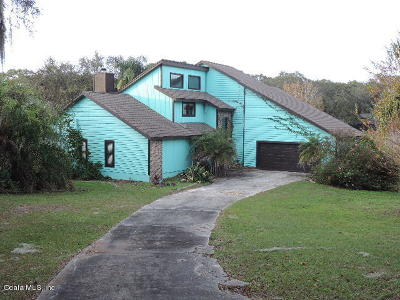 Belleview FL Single Family Home For Auction: $167,500