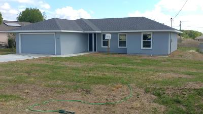 Ocala Single Family Home For Sale: 117 Larch Road