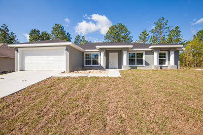 Ocala Single Family Home For Sale: 577 Marion Oaks Trail Trail