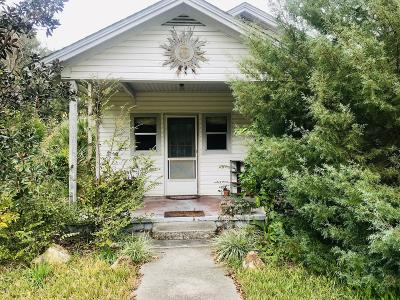 Williston FL Single Family Home For Sale: $80,000