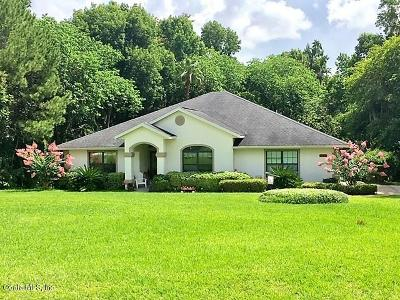 Ocala Single Family Home For Sale: 1769 SE 87th Place