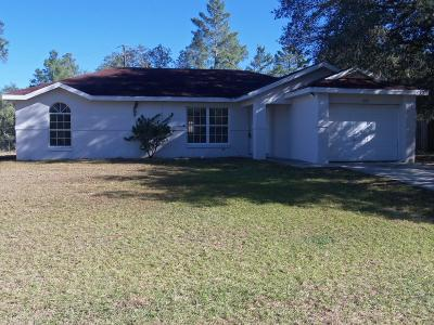 Marion Oaks North, Marion Oaks South, Marion Oaks Rnc Single Family Home For Sale: 16981 SW 41st Avenue Road