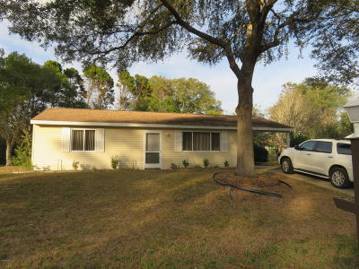 Marion County Rental For Rent: 9067 SW 109th Lane