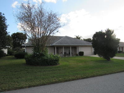 Summerfield FL Single Family Home Pending-Continue to Show: $165,000